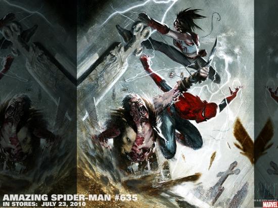 Amazing Spider-Man (1999) #635 Wallpaper
