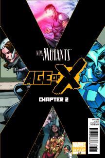 New Mutants (2010) #22 (2nd Printing Variant)