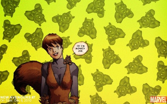 Squirrel Girl Wallpaper