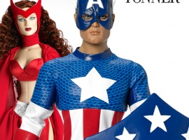 Captain America Tonner Character Figure by Tonner