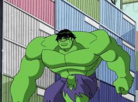 Hulk in Avengers: Earth's Mightiest Heroes!