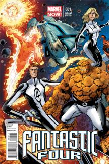 Fantastic Four (2012) #1 (Bagley Connecting Variant)