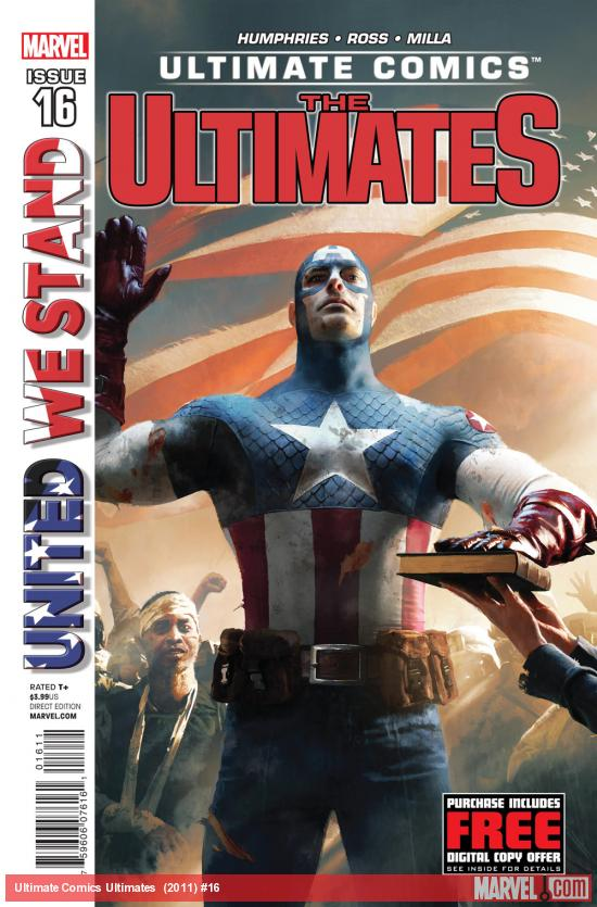 Ultimate Comics Ultimates #16 cover