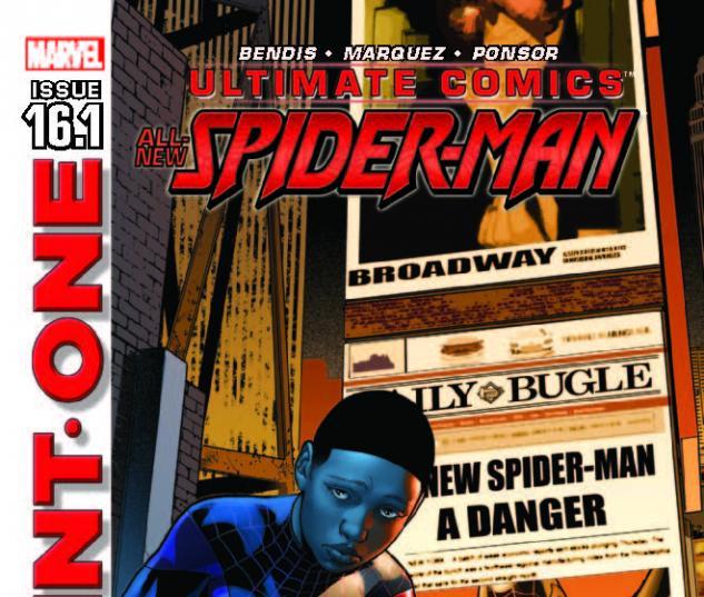 ULTIMATE COMICS SPIDER-MAN 16.1