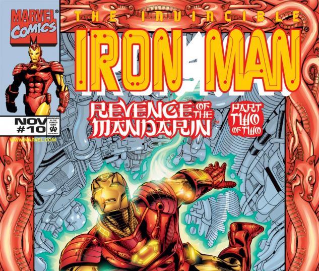 Iron Man (1998) #10 Cover