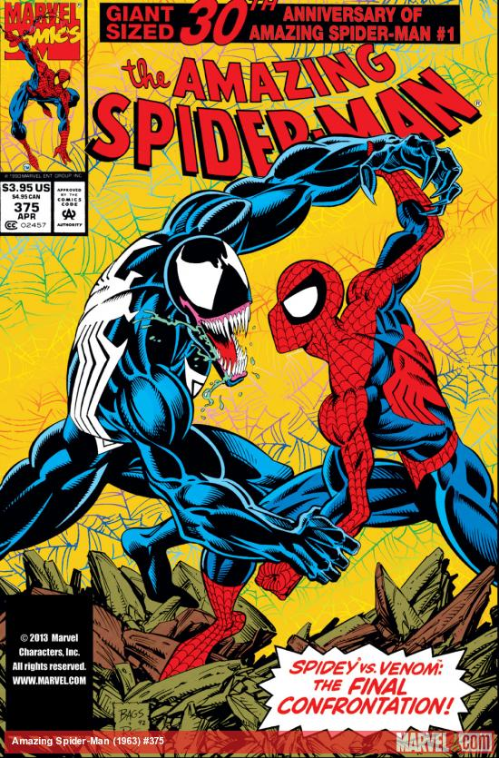 Amazing Spider-Man (1963) #375 Cover