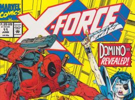 X-Force (1991) #11 cover by Rob Liefeld