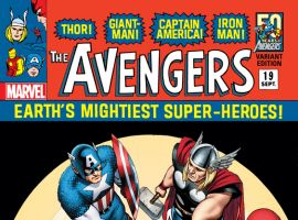 AVENGERS 19 CASSADAY 60S VARIANT (INF, WITH DIGITAL CODE)