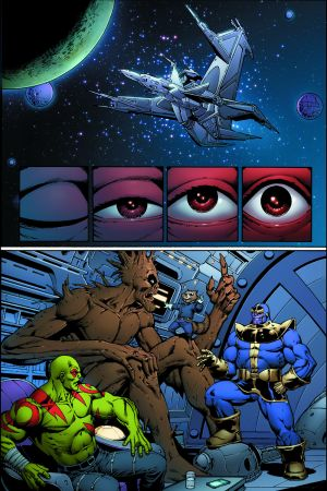 Thanos: The Infinity Revelation preview art by Jim Starlin