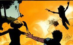Marvel AR: Avengers Arena #6 Art Evolution