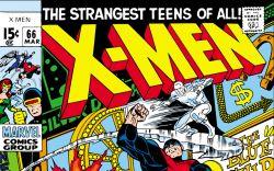 Uncanny X-Men (1963) #66 Cover