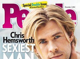 Chris Hemsworth named People Magazine's Sexiest Man Alive