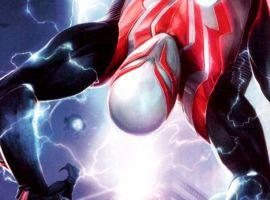 Spider-Man 2099 #1 cover by Francesco Mattina