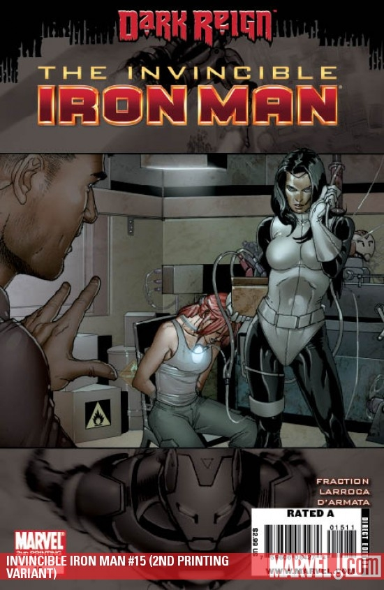 INVINCIBLE IRON MAN #15 (2ND PRINTING VARIANT)