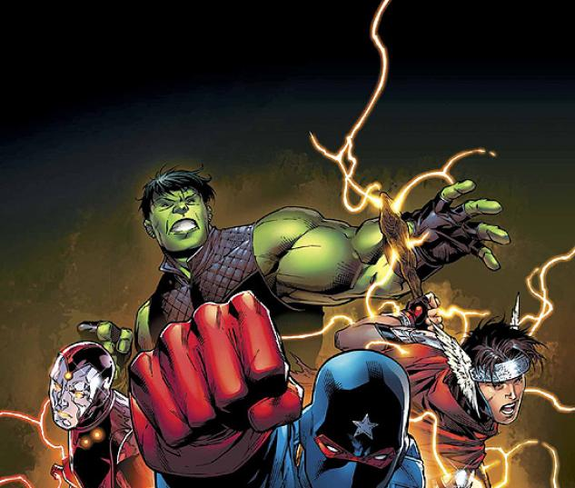 YOUNG AVENGERS (2005) #1 COVER