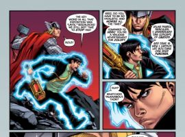 Heroic Age: Prince of Power #4 preview art by Reilly Brown and Adam Archer