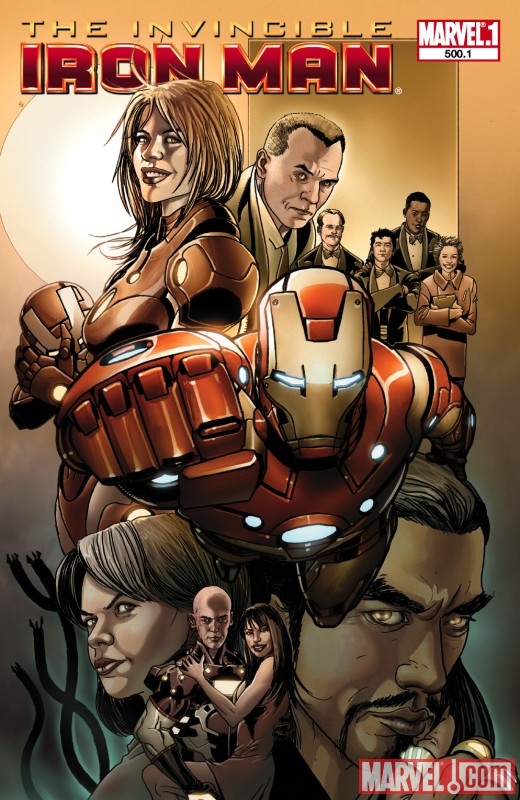 Image Featuring Iron Man, Mandarin, Pepper Potts