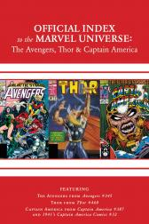 Avengers, Thor &amp; Captain America: Official Index to the Marvel Universe #10 