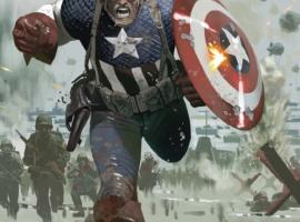 Captain America #615.1 cover by Daniel Acuna