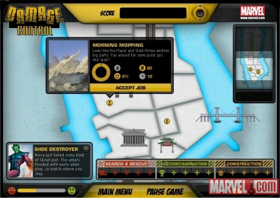 Damage Control Online Game Screenshot 3