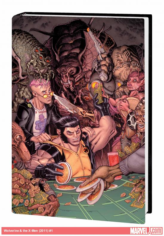 WOLVERINE &amp; THE X-MEN BY JASON AARON VOL. 2 PREMIERE HC (COMBO)