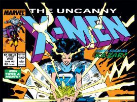 Uncanny X-Men (1963) #250 Cover