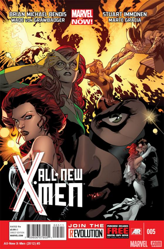 All-New X-Men #5 cover by Stuart Immonen