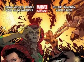 All-New X-Men #5 cover by Stuart Immonen