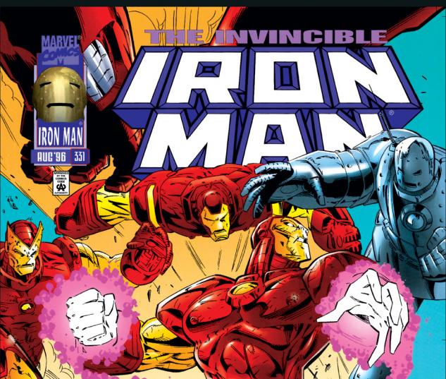 Iron Man (1968) #331 Cover