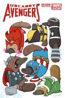 Uncanny Avengers #18  (Cook Animal Variant)