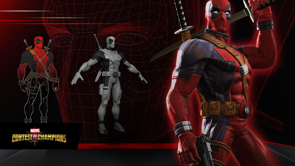 Deadpool in Marvel Contest of Champions