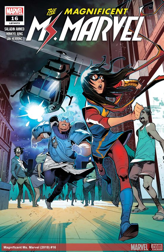 Magnificent Ms. Marvel (2019) #16