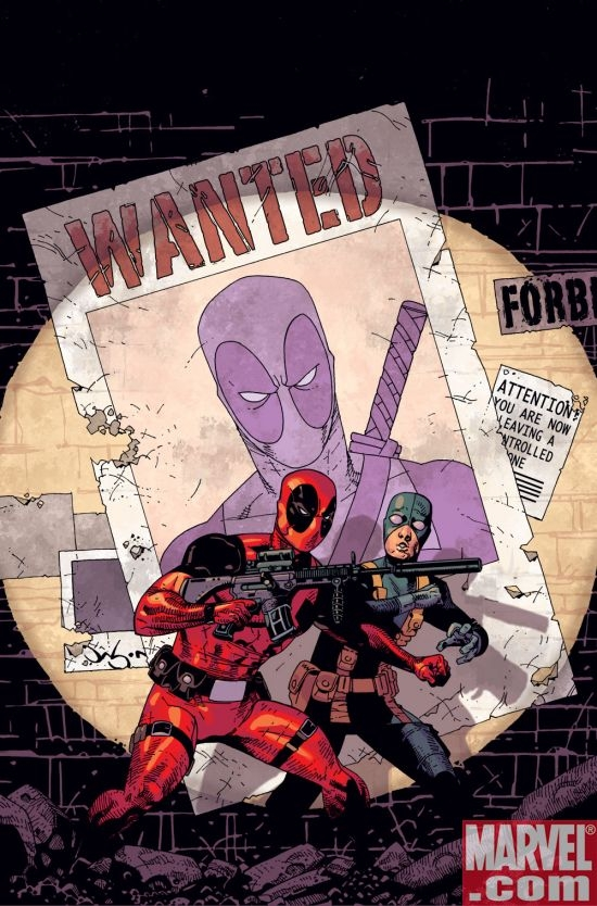 DEADPOOL #7 cover by Jason Pearson