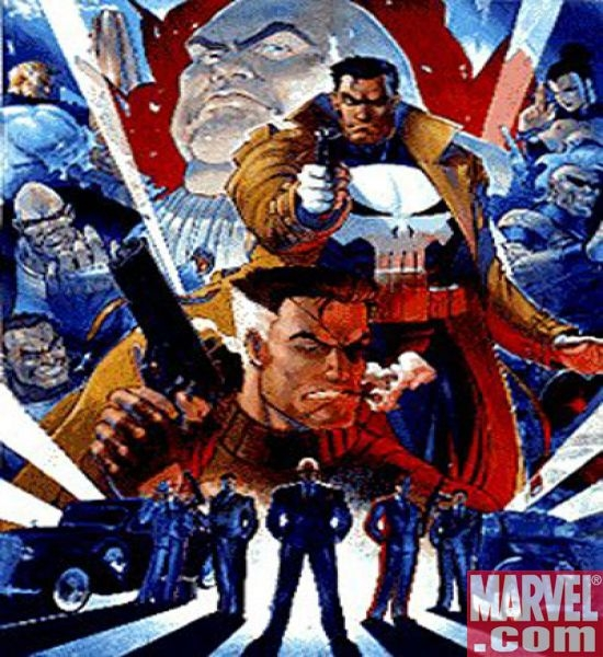 The Punisher arcade game poster
