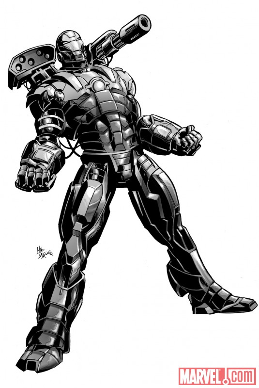 War Machine promo by Mike Deodato