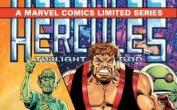 HERCULES: TWILIGHT OF A GOD #3 cover by Bob Layton