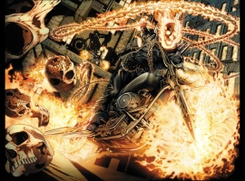 Ghost Rider #1 Wraparound Variant cover