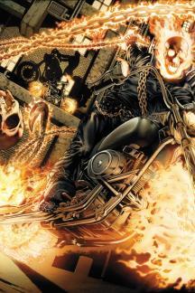 Ghost Rider #1  (Lozzi Wraparound Variant)
