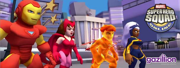 Super Hero Squad Online: Card Battle Trailer