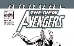 NEW AVENGERS ANNUAL 1 ARCHITECT SKETCH VARIANT