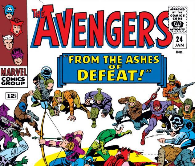 Avengers (1963) #24 cover