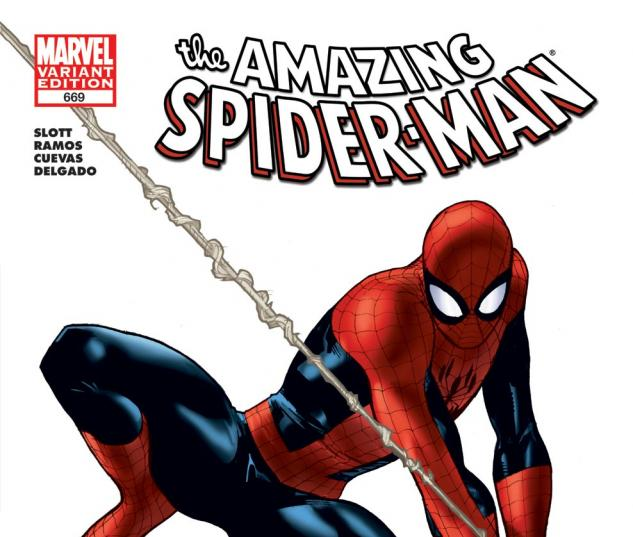 Amazing Spider-Man (1999) #669, Architect Variant