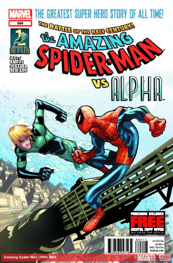 AMAZING SPIDER-MAN 694 (WITH DIGITAL CODE)