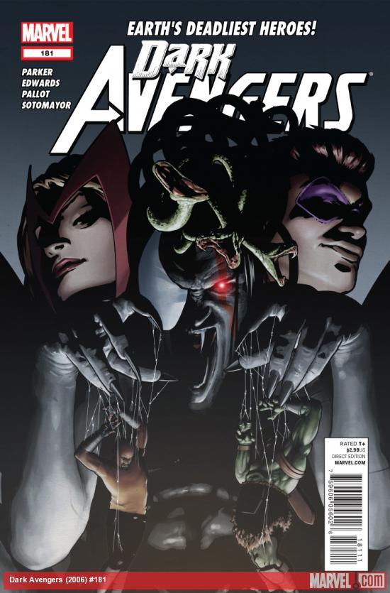 Cover: Dark Avengers (2006) #181