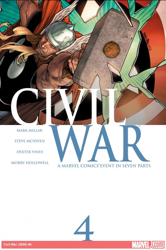 Cover: Civil War (2006) #4