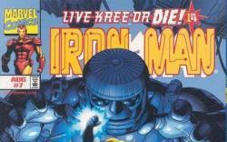 Iron Man (1998) #7 cover by Sean Chen