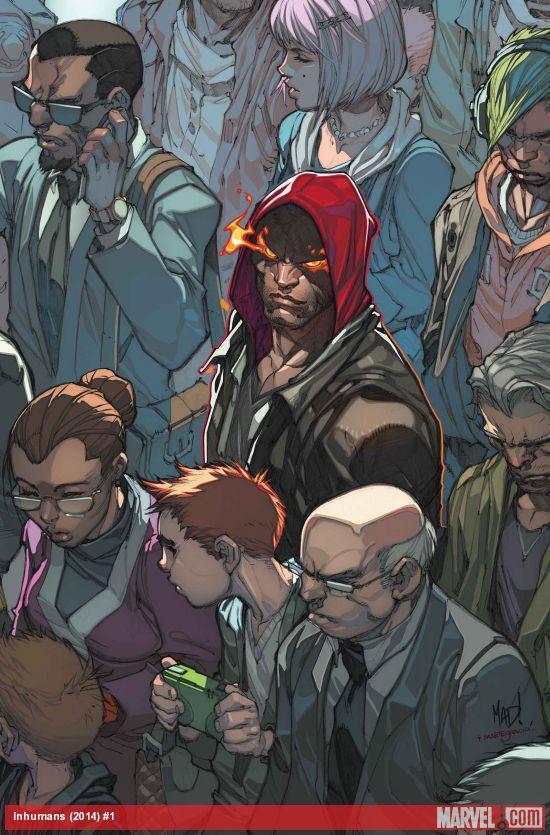 Inhuman comic book