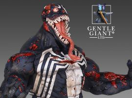 Venom Zombie Mini Bust from Gentle Giant