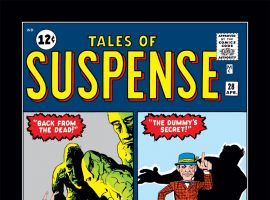 Tales of Suspense (1959) #28 Cover