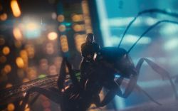 Scott Lang (Paul Rudd) races into action in Marvel's Ant-Man